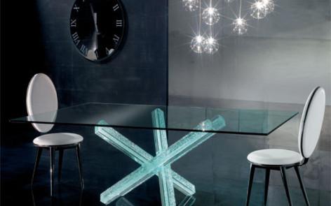 Современная мебель из стекла