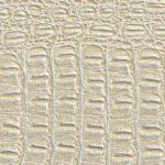 Крокодил бело-золотой
